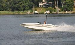 great condition! 350 MAG 5.7L MerCruiser, full cover, includes trailer. AM/FM/CD