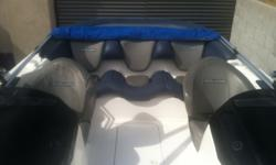 2000 sea-Doo Challanger with v6 enginethis boat has a v6 inboard motor drives just like a big jet ski 8 passengers goes55 mph turns on a dime great new sound system paid over $1500 last year cd mp3 6 speakers 2in boat 4 over head of the joystick ski tower