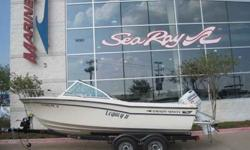 1992 Grady-White 19 TOURNAMENT Very CLean one owner Grady. The boat has always been dry stored and used only in freshwater. Contact MarineMax to schedule a time to view the boat. Trailer is not included. For more information please call