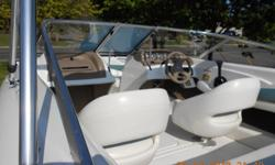 2003 Larson 18' SEI open bow , Wonderful low hours, bottom staining is from mooring in the river, Comes with all safety equipment , moored per season Trailer has less then 200 miles on it , 231-590-8401