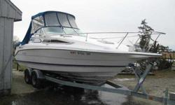 $9,500, DEAL PENDING, CUSTOMER JUST LISTED WITH US FOR QUICK SALE, POWERED BY A MERCRUISER 260 HORSEPOWERBRAVO II, ENGINE & OUTDRIVE.NEEDS SOME TLC, HOWEVER ENGINE DRIVE RUNS GREAT.BEAT THE SPRING RUSH & PURCHASE TODAY. PRICE DOES NOT INCLUDE TRAILER. VIN
