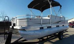 2007 SUN TRACKER PARTY BARGE 21' PONTOON For Sale by Midway Power Sports - Spokane, Missouri Exterior Color