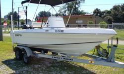 90HP Mercury 2-stroke and tandem aluminum trailer. Nice Boat.