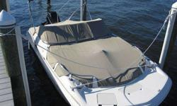 2002 Hurricane Sun Deck 187 Deck Boat, complete with canvas covers and trailer. Excellent vessel for those new to boating or anyone looking for a reliable and practical boat at a great price. 125HP Mecury Saltwater outboard runs great and has plenty of