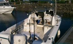 We are selling a 1998 21 ft Neptune walk around. 2001 175 HP outboard Envinrude Ficht. The motor has about 600 hours on it. This is a great running boat. the boat has a Colored Garmin fishfinder and Garmen GPS. VHF Radio,CD/player with Marine speakers,