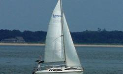 The Hunter 23.5 is a trailer-able weekend-cruiser that is safe, fast, comfortable and very easy to sail. This is one of cleanest, best equipped Hunter 23.5's that you will find Standard Features