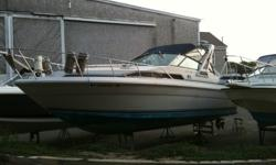 270 Sea Ray with 2005 twin 350 Mercruiser engines. Call me 781.826.9764 if you are interested.