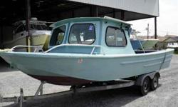 The Boat Yard Inc. 21' Alum Boat W/Cabin 21' Alum Boat W/Open Cabin , Hevy Guage Alum , Fishing Seats , Windows Open , Alum Fuel Tanks , Bimini Top , Galv Tandem Axle Trailer , For more info call Ruben A Ramos at 504-236-0119 or e-mail
