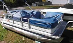 $9,995, YAMAHA four STROKE OUTBOARD 50HP ENGINE W/LOW FRESHWATER HOURS, BIMINI TOP W/BOOT, INDIVIDUAL SEAT COVERS, single owner, RATED FOR TEN PEOPLE, FORWARD AFT, PORT AND STARBOARD ENTRY GATES, DOCKING LAMPS, PORT AND STARBOARD FORWARD BENCH SEATS, HELM