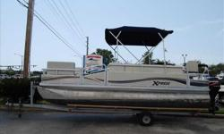 2006 Xpress 20 The most affordable way to get you and your family on the water! 2006 Xpress 20 ft pontoon is ready to get you and your family out on the water, if you like to fish, cruise, venture to your favorite restaurant on the water, or just hang out