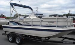 1999 Hurricane 196 Sport Deck for sale. This Hurricane deck boat is in very good condition for its age and come with nice bimini top, cover, carpet and a Mercury 135hp Optimax 2 stroke outboard motor. The boat has been inspected and detailed and the motor