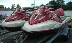 A Pair of Pre-Owned 2002 Sea Doo GTXs on a Load Rite Double TrailerOnly 39.6 & 37.2 Hours on Each MachineMachines Were Serviced & Winterized Every YearBoth Sea Doos Run Good (Customer is a regular & had both skis out this year. Both machines were started