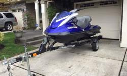 2007 Yamaha FX Cruiser High Output. 4 stroke, 160 HP 3 occupant. Karavan suspension trailer included! One owner, less than 105 hours with service records on ski. Well maintained, absolutely no problems. Runs and operates perfectly. Minor cosmetic wear