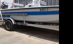 1994 22ft Redfin boat. It has a 1993 175hp Johnson motor. It is a easy start with power steering. Mechanic certified. Also comes with trailer in excellent condition. Sun canopy and anchor is also included. Excellent quality boat at a affordable price.