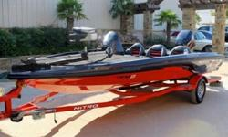 The choice of five available outboard motors should satisfy a broad range of needs for speed and as mentioned above, the boat/trailer combination weighs about 4,050 lbs. (1,837 kg), which makes the package attractive for towing. Top speed for the Nitro