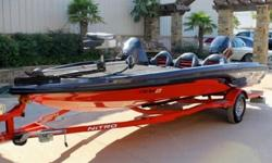 "The NITRO X-4 delivers all the power, performance and professional-level features NITRO boats are famous for. And it does it at a price any angler can appreciate. At a highly maneuverable 17' 4"" but with a very stable 90-inch beam, the X-4 is built to"