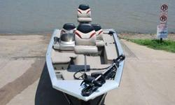 This like-new fishing boat is a 2004 Bass Tracker Pro 175 Crappie Bass Boat. It is 17 feet, 2 inches in length with a 74 inch beam overall. It has a 60 HP Tracker motor. It comes with a 2004 Trailstar Boat Trailer. This great boat has been in the garage