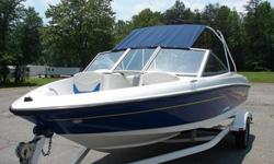 Excellent Bayliner 175 Bowrider, 3.0 Mercruiser, 135 HP, Karavan Trailer, Boat Covers, Radio, Bimini Top, all accompanied by low low hours! is an excellent boat.Trailer is galavinzed and good tires both are current on tags serious buyer. (858)