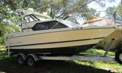 This boat has it all for an overnight/weekender. Totally rebuilt with 1 hour on brand new crate motor with 300 hp. So many new items to list so will have a photo of sheet listing some of the items. Comes with everything ready to go including CG safety