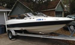 Beautiful 2003 Regal 1800 Bowrider in pristine condition. This is the Mercedes of boats in superior condition and drives like a car. With the 190 H.P. 4.3L V-6 Volvo Penta. Regal's famous FasTrac hull speed and agility are top of the line. The all