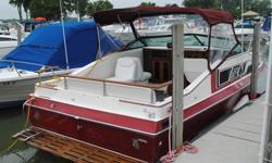 Glassport 242 5.7L Wide Boat price lowered - $7500 Glassport 242 260hp 5.7L Mercruiser. Nice boat for fishing or cruising around the islands. You will not find another boat this size with more room on deck. Deep V hull, safe boat for lake erie. Updated