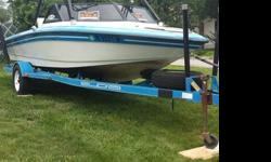 91 Supra impulse with 600 hours, 351 PCM, good condition, good interior, cd player with speakers on the tower, new mirror on tower for wake boarding, trailer included, have good condition cover for boat as well, please call/text 401-578-7874 with