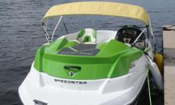 2012 Seadoo Speedster 150 Factory warranty through April 2016. Original Women owner, well maintainedNew galvanized trailer, new battery, New custom mooring snap on cover,Also towing cover & plastic winter cover. Bimini sun shade cover. 100 hours, run in