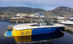 Selling an awesome 2007 Mastercraft X30 - it is in great shape and has all service records, including a 2014 full inspection from a dealer. USA wide delivery is no problem.-Has the powerful Indmar 350 with 445 hours on it-Rare blue/yellow graphics - this
