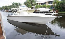 2003 Jupiter 31 Cuddy Cabin Center Console, very good conditions. 2 Yamaha F225 in excellent working conditions w/ new updated mid sections installed by Yamaha, new steering cylinders, new upholstery and bolsters, Furuno NAV Net GPS