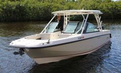 2014 Boston Whaler Vantage, 2014 Boston Whaler, twin Mercury 225 Verado 4 stroke, never compromise, and never settle for less. Beyond providing an incredibly smooth, predictable handling and unmatched ride quality, the Boston Whaler 270 Vantage is