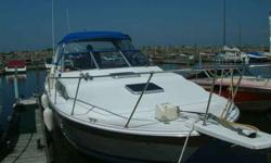 1984 28' Bayliner Contessa. Twin closed loop Valvo engines with 270 IO,s, AC, new top, galley, head, aft and forward cabin, windless, swim platform, down riggers, fish finder, GPS, microwave, windless. The boat has been babied and well maintained. Must