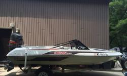 Great for skiing and tubing. Our kids have no interest anymore Too much to list....comes with (2) single tubes, (1) double tube, water skiis, new tow rope, new bridal, 3 life jackets, ski gloves and dock bumper. This boat is fast...planes off quickly and