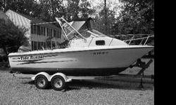 """Hydra-Sports WA 99 20' 6"""" 212 Seahorse Johnson 200HP EFI, oil injection system 2 captain's chairs, cooler, depth finder, GPS, life vests/preservers, live well, marine radio, Port-a-Potty, rod holders, ski pole, trailer good condition 10,000 (804)316-3397"""