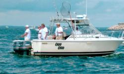 1988 Phoenix 28 ft. with a 10 ft. beam. Depth Finder- Furuno, GPS Map 930 Garmin- Radar Furuno, Radio Horizon Eclipse, Two 200 outboard Yamaha, sink, shower, toilet, riggers enough equipment on the boat to start fishing. Separate Fishing Rods for sale