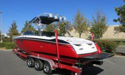 For sale: 2007 Mastercraft X 80 Ski/wakeboarding boat in great condition! This boat has twin Inmar 6.0 lt V8 motors with 108 hours on one and 112 hrs on the other, 2 ballast tanks, bimini, four tower speakers (two speakers with lights),subbuffer, sink,