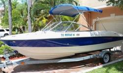 dhvd6 2007 Bayliner 185 Bowrider boats for sale The boat is in very good condition and I am the original owner . Overall the boat is in pristine immaculate condition as it was garage kept since day one and shows like a 2-3 year old boatcontact me here or