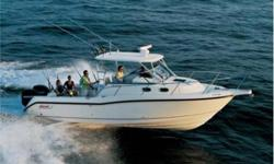 For Sale 2008 30.5 Boston Whaler Conquest. LOA 32 feet. The 30.5 Conquest is a fishing machine and pleasure boat that has it all: enhanced utility, ultimate convenience and stylish comfort. The boat features a host of functional and aesthetic upgrades