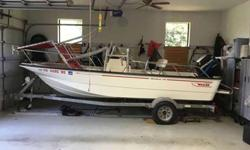 Original ownerOriginal 90 Mercury 2 strokeOriginal Boston Whaler fishing packageFishmaster T-TopMore pictures and details 405-360-XXXX