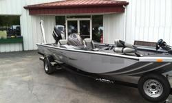 Practically BRAND NEW, this 2013 Lowe 195 Stinger is perfect set up for any angler! It's powered with a Mercury 75hp Optimax outboard and you'll also find that it's rigged with a power pole next to the outboard motor on the transom. Any angler knows that