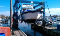 For sale 40' burnscraft fiberglass with twin volvo 60B diesel engine,starboard side engine got 0 hours recently rebuild, need to be break in, both engine are done, the only work have to be finish is interior, carpet and floor, New waste tank, macerator,