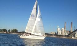 Fresh water boat, very well maintained, nicely equipped, comes with trailer,Award winning race boatReady to race or sail NOW!!! Equipment: two bulk head compasses - Ritchie BN202new depth finder/knot indicatorSpinnaker and Whisker PoleRoller furling3 main