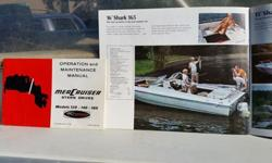 We bought the boat from my wife's uncle. He had it stored in his spare garage for 20 years he told me. We have stored it inside every winter since we bought it 4 years ago and under a boat cover during the summer. I had to replace the starter, have the