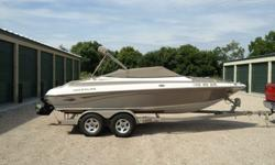 2004 Crownline 202 BR model. It's got the 270hp V8 motor and capacity is 12 person!!
