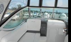 *VERY RARE: This Cruisers 300 CXI has both a Bow Thruster and a GeneratorThis boat delivers all the essentials buyers expect in a boat this size. Built on a traditional modified V hull with a 10' beam.Her open-plan interior with its wraparound rear