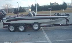 I am selling my 1994 Ranger 482VS Bass Master Classic. The boat is in excellent shape for its age. Motor is a Johnson 150 Fast Strike that runs great. The boat sits on a tandem axle trailer with brakes on one axle. The boat has an 82lb motor guide tour