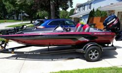 Like new, probably had on water about 20 times, bought new from dealer in 2012 - one owner. I'm confident this is the cleanest used bass boat you'll find for sale. Motor has less than 10 hours. 17.5 foot.70 ft lb Minn kota.Factory Ranger cover.2 lowrance