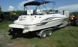 2007 FISHER LIBERTY 200 PONTOON BOAT . With room on board for 10 people, you can take all of your friends fishing and have fun for the weekend. You are viewing a 2007 FISHER LIBERTY 200 PONTOON BOAT WITH 90HP MERCURY MOTOR.The motor has been checked and