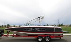Up for sale is a beautiful 2006 Mastercraft X45 with very low hours. This boat has been well taken care of and is ready for the water. Some of the features on this X45 include: a ballast system, JL Audio sound system, 2 tower speakers, swivel