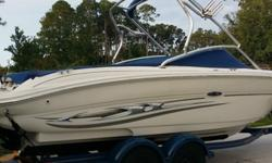 For more information call me: ( 2O6 ) x 456 x 0382'THIS IS A ONE OWNER FRESH WATER BOAT WITH VERY LOW HOURS,YOU WILL NOT FIND ONE IN BETTER CONDITION ,INTERIOR AND THE EXTERIOR IS LIKE NEW ,NO SCUFF MARKS OR SUN FADE AT ALL ,BID WITH CONFIDENCE AND IF YOU