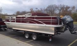 2013 G3 SunCatcher X322FC Tri-Tune Pontoon and Trailer FOR SALE2013 X322FC G3 SunCatcher Pontoon Boat2013 Yamaha F150 four stroke with stainless steel 4 blade 14 Yamaha prop.2013 Bear Tandem Axle Pontoon Trailer with rear wheel drum surge brakes22' 6""